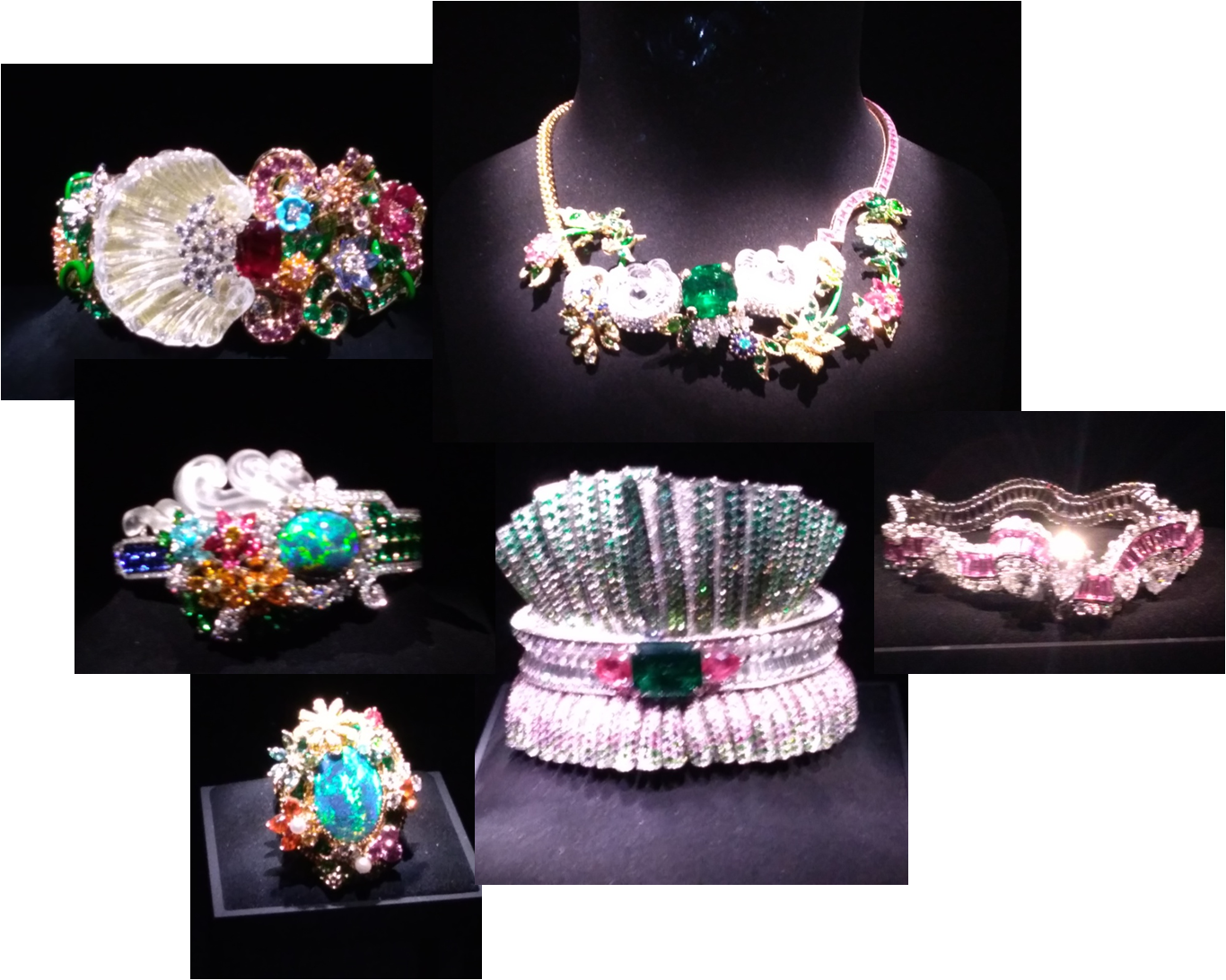 exposition Dior Dior Dior haute joaillerie